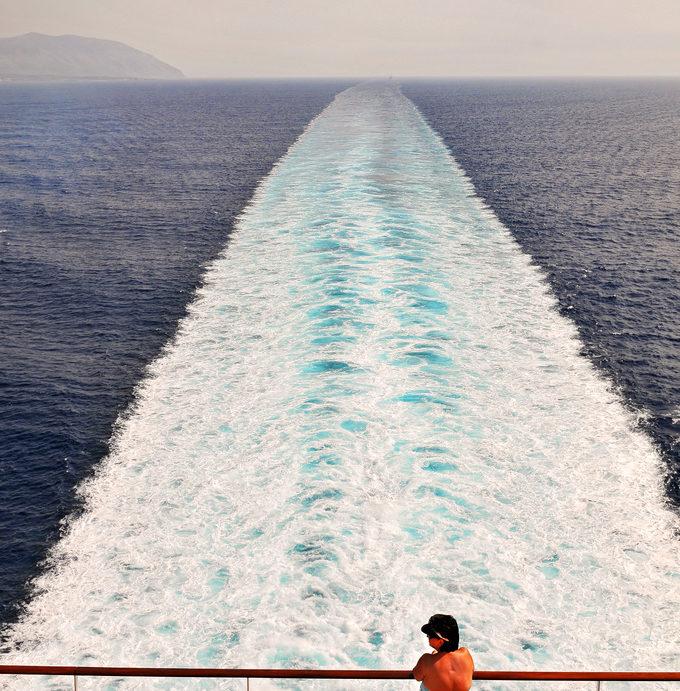 Scia della nave