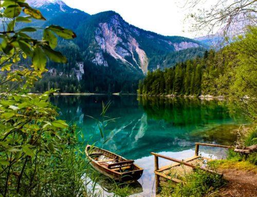 Lago di Tovel, luogo fiabesco per tutta la famiglia.