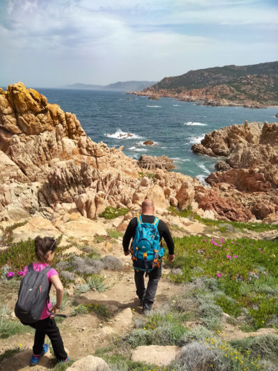 Escursione trekking con bambini Sardegna