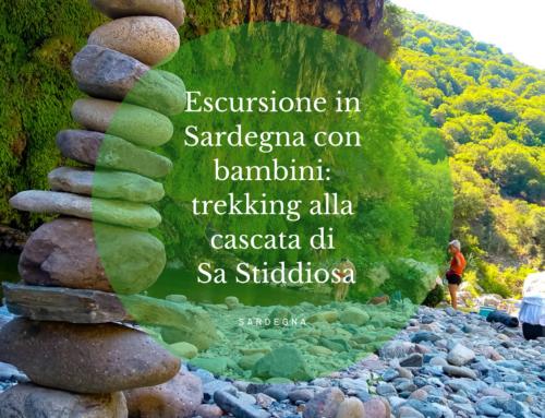 Escursione in Sardegna con i bambini: trekking alla cascata di Sa Stiddiosa