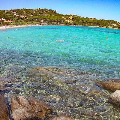 Spiaggia per bambini Sardegna Cala Girgolu