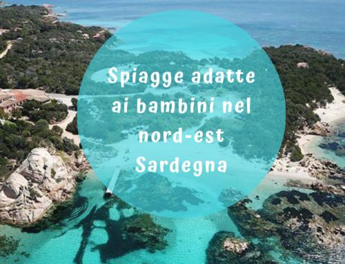 Spiagge per bambini nel nord-est della Sardegna