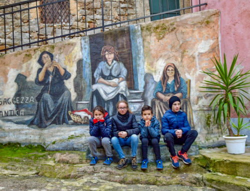 Orgosolo con i bambini: la nostra escursione