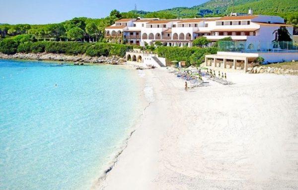 Spiaggia per bambini nord ovest Sardegna