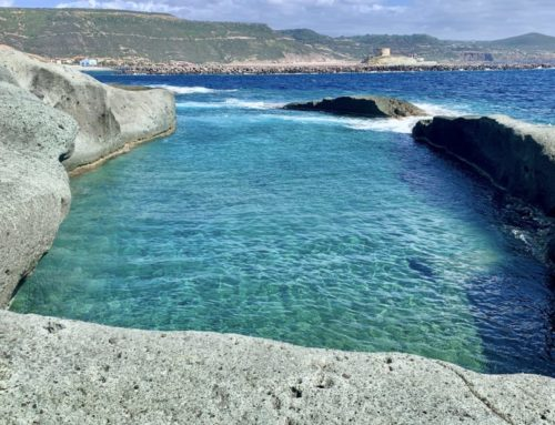 Cane Malu: la piscina naturale di Bosa