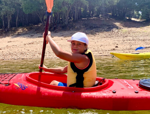Escursione in kayak al Lago di Gusana